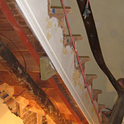 Howard Hall Farm Brooklyn Brownstone Stair Rebuild