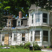 Howard Hall Farm Dutchess County Victorian House Restoration