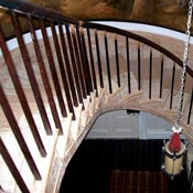 Howard Hall Farm  Upstate New York Hudson Valley 1812 Federal Staircase Restoration