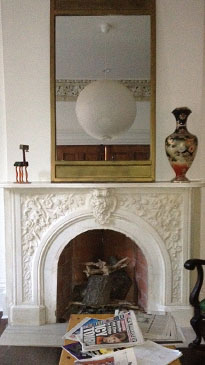 Howard Hall Farm Fireplace Restoration
