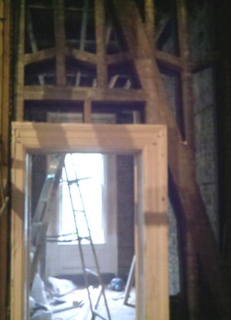 Wooden truss