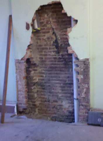 Chimney and fireplace repair