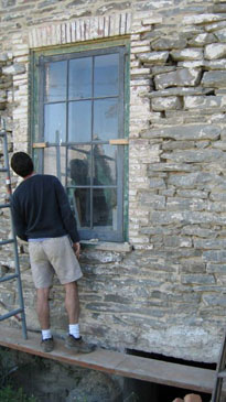 Howard Hall Farm Lime Plaster & Mortar Restoration & Repair