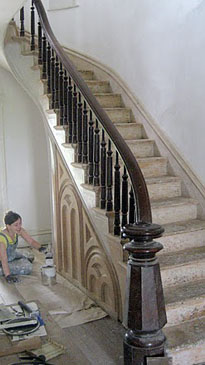 Howard Hall Farm Restoration Group Staircase Restorations
