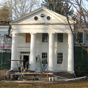 Howard Hall Farm Upstate New York Greek Revival Restoration