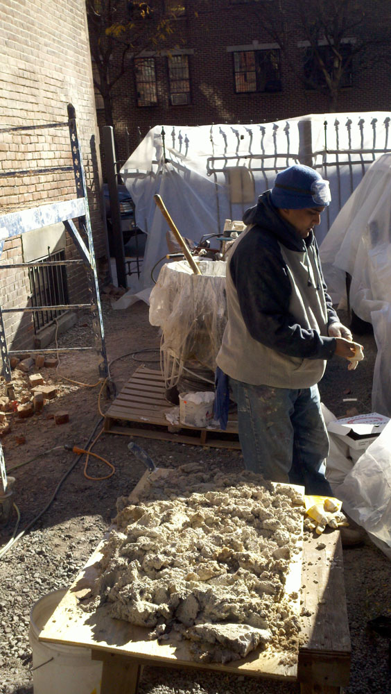 Chiseling away the Portland cement